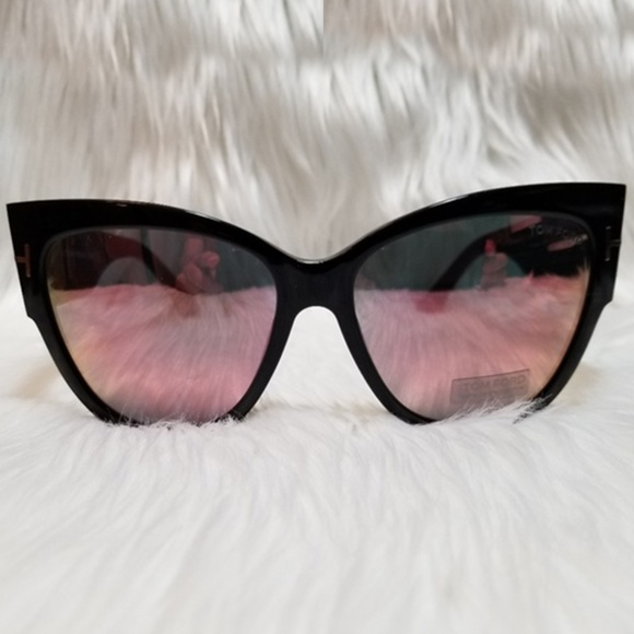 28e67a2befea Tom Ford Sunglasses Anoushka Cat Eye Pink Mirror